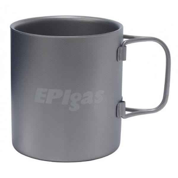 EPI(イーピーアイ) ダブルウォール チタンマグ T-8104カップ キャンプ用食器 アウトドア テーブルウェア テーブルウェア(カップ) アウトドアギア