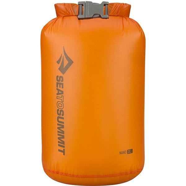 SEA TO SUMMIT(シートゥーサミット) ウルトラシルナノ ドライサック/オレンジ/2L ST83002オレンジ ウルトラシルナノ ドライサック バッグ アウトドア アウトドア 防水バッグ・マップケース ドライバッグ アウトドアギア
