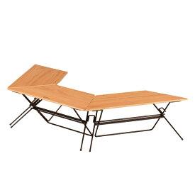HangOut(ハングアウト) アーチテーブル(Wood Top) FRT-7030WDアウトドアギア テーブルセット レジャーシート テーブル おうちキャンプ ベランピング