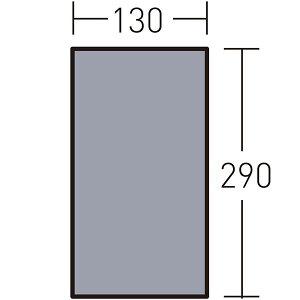 ogawa campal(小川キャンパル) PVCマルチシート 300×140用 (アポロン2人用インナー) 1437アウトドアギア グランドシート・テントマット テントアクセサリー グランドシート おうちキャンプ ベラン
