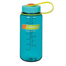 ★エントリーでポイント10倍!NALGENE(ナルゲン) ナルゲン広口0.5L/セルーリアン 91420アウトドアギア 樹脂製ボトル 水筒 マグボトル ブルー