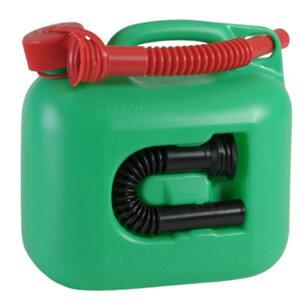 hunersdorff (ヒューナースドルフ) Fuel Can PREMIUMI 5L green 800700アウトドアギア 燃料タンク アウトドア 燃料 グリーン おうちキャンプ ベランピング