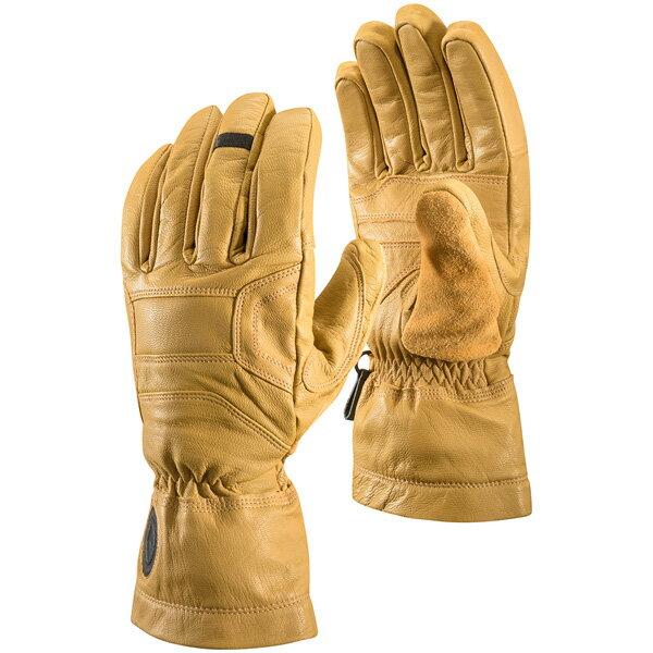 Black Diamond(ブラックダイヤモンド) キングピン/ナチュラル/M BD75101男女兼用 イエロー ウインタータイプ(冬用) 手袋 メンズウェア ウェア ウェアアクセサリー 冬用グローブ アウトドアウェア