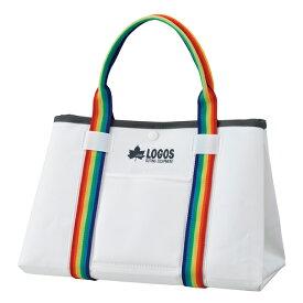 OUTDOOR LOGOS(ロゴス) アクアストレージ・ミディアムトート(ミルクホワイト) 88230192ホワイト トートバッグ バッグ アウトドア アウトドアギア
