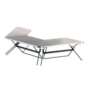 HangOut(ハングアウト) アーチテーブル(Stainless Top) FRT-7030STアウトドアギア テーブルセット レジャーシート テーブル おうちキャンプ ベランピング