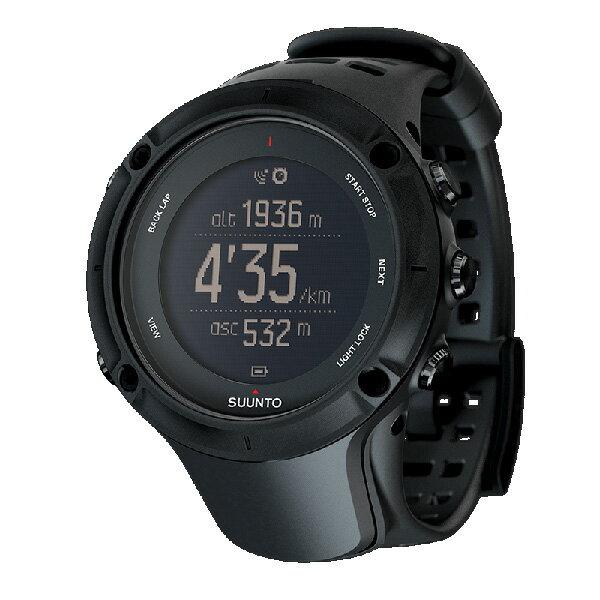 納期:2018年02月上旬SUUNTO(スント) [正規品・2年保証]AMBIT3 PEAK BLACK(アンビット3ピークブラック) SS020677000ブラック リチウムイオン電池 男女兼用腕時計 腕時計 高機能ウォッチ アウトドアギア