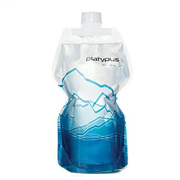 ★エントリーでポイント5倍!platypus(プラティパス) ソフトボトル 1.0L/マウンテン/1.0L 25872マグボトル 水筒 水筒 ソフトパック ソフトパック アウトドアギア