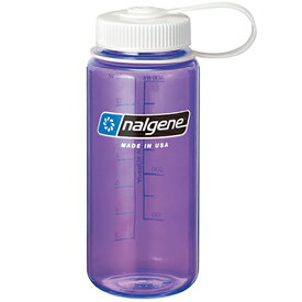 ★エントリーでポイント10倍!NALGENE(ナルゲン) 広口0.5LTritanパープル 91306アウトドアギア 樹脂製ボトル 水筒 マグボトル パープル