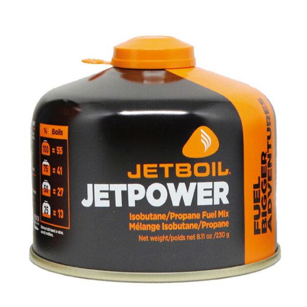 ★Wエントリーでポイント9倍!JETBOIL(ジェットボイル) JB.ジェットパワー230G 1824379燃料 アウトドア アウトドア ガス レギュラー アウトドアギア
