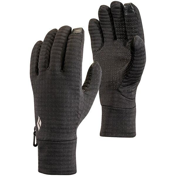 Black Diamond(ブラックダイヤモンド) ライトウェイト グリッドテック/ブラック/M BD77150男女兼用 ブラック 手袋 レディースウェア ウェア ウェアアクセサリー グローブ アウトドアウェア
