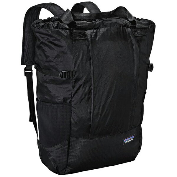 patagonia(パタゴニア) LW Travel Tote Pack/BLK 48808ブラック トートバッグ 男女兼用バッグ アウトドアギア