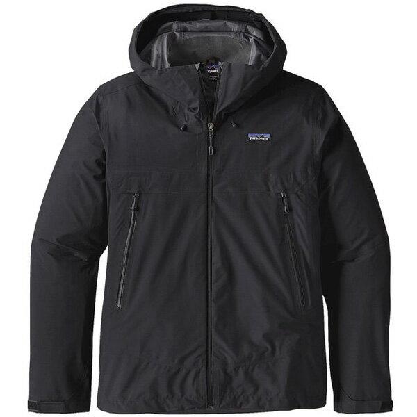 patagonia(パタゴニア) Ms Cloud Ridge Jacket/BLK/XS 83675男性用 ブラック レインジャケット レインウェア ウェア レインウェア(ジャケット) レインウェア男性用(男女兼用) アウトドアウェア