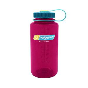 NALGENE(ナルゲン) 広口1.0L Tritan/エッグプラント 91438アウトドアギア 樹脂製ボトル 水筒 マグボトル おうちキャンプ ベランピング