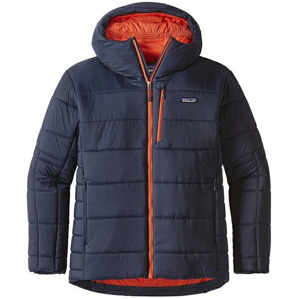 patagonia(パタゴニア) Ms Hyper Puff Hoody/NVYB/M 84390男性用 ネイビー アウター メンズウェア ウェア ジャケット 中綿入り ジャケット 中綿入り男性用 アウトドアウェア