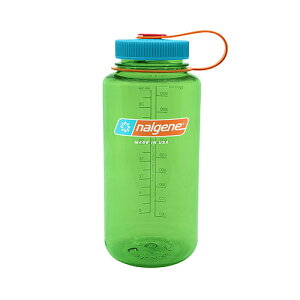 NALGENE(ナルゲン) 広口1.0L Tritan/ペアー 91439アウトドアギア 樹脂製ボトル 水筒 マグボトル おうちキャンプ ベランピング