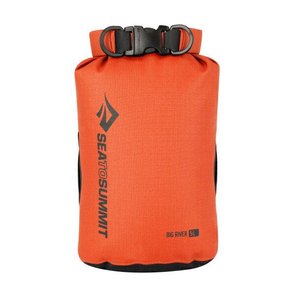 SEA TO SUMMIT(シートゥーサミット) ビッグリバー ドライバッグ/オレンジ/5L ST83062オレンジ ダイビングバッグ シュノーケリング ダイビング 防水バッグ・マップケース ドライバッグ アウトドアギア