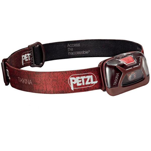 PETZL(ペツル) ティキナ/Red E91ABBレッド ヘッドライト ランタン LEDタイプ アウトドアギア