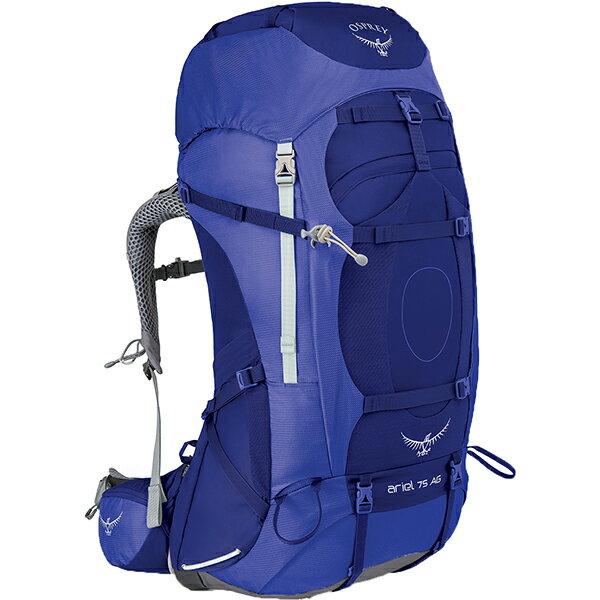 OSPREY(オスプレー) エーリエルAG 75/タイダルブルー/S OS50065女性用 ブルー リュック バックパック バッグ トレッキングパック トレッキング大型 アウトドアギア