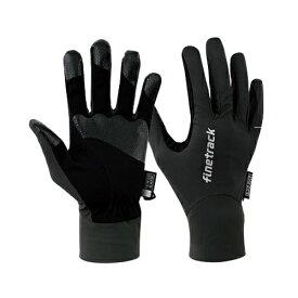 finetrack(ファイントラック) エバーブレストレイルグローブ/BK/M FAU0111アウトドアウェア グローブ ウェアアクセサリー メンズウェア 手袋 ブラック 男女兼用 おうちキャンプ