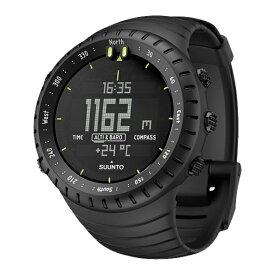 SUUNTO(スント) [正規品・2年保証]CORE ALL BLACK(コア オールブラック) SS014279010アウトドアギア 高機能ウォッチ メンズ腕時計 おうちキャンプ ベランピング