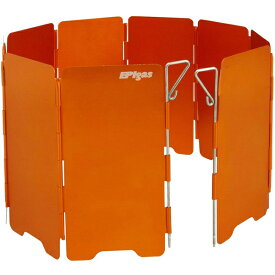 EPI(イーピーアイ) ウインドシールド(S)オレンジ A-6507キャンプ用バーナー クッキング用品 バーべキュー アクセサリー 風防 アウトドアギア