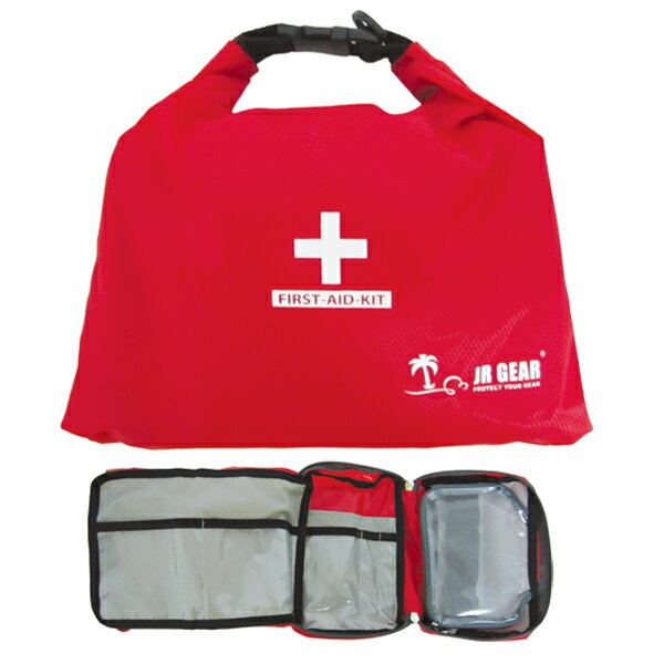 JR GEAR(ジェイアールギア) First Aid Bag II/Red(20) FAB002応急手当用品 防災関連グッズ 手芸 ファーストエイド用品 ファーストエイド用品 アウトドアギア