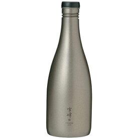 納期:2021年01月下旬snow peak(スノーピーク) 酒筒 Titanium TW-540アウトドアギア チタンボトル 水筒 マグボトル おうちキャンプ ベランピング
