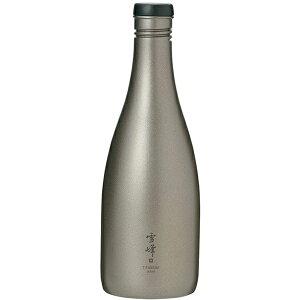 snow peak(スノーピーク) 酒筒 Titanium TW-540アウトドアギア チタンボトル 水筒 マグボトル おうちキャンプ ベランピング