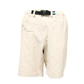 KAVU(カブー) チリワックショーツ/Natural/S 11863004アウトドアウェア ショートパンツ男性用 メンズウェア ハーフパンツ ショートパンツ ホワイト おうちキャンプ