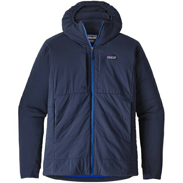 patagonia(パタゴニア) Ms Nano-Air Hoody/NVYB/M 84365男性用 ネイビー アウター メンズウェア ウェア ジャケット 中綿入り ジャケット 中綿入り男性用 アウトドアウェア