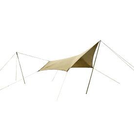 ogawa campal(小川キャンパル) システムタープペンタ3×3 3337アウトドアギア ヘキサ・ウイング型タープ テント おうちキャンプ ベランピング