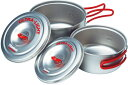 EVERNEW(エバニュー) Ti U/L クッカー RED ECA259Rレッド クッカー クッキング用品 バーべキュー クッカーセット クッ…
