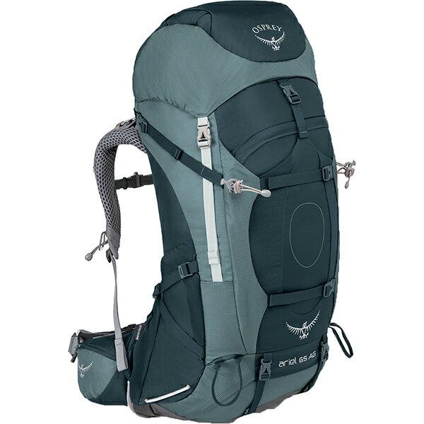 OSPREY(オスプレー) エーリエルAG 65/ブースベイグレー/S OS50066女性用 グレー リュック バックパック バッグ トレッキングパック トレッキング70 アウトドアギア