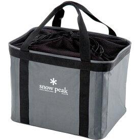 納期:2019年12月中旬snow peak(スノーピーク) ギアコンテナ UG-080グレー 燃料 アウトドア アウトドア クッキング用品収納バッグ クッキング用品収納バッグ アウトドアギア