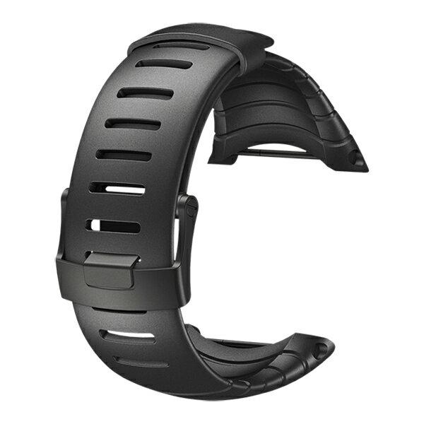 SUUNTO(スント) [正規品]コア ウレタンストラップ オール ブラック SS014993000腕時計用アクセサリー 腕時計 時計バンド アウトドアギア