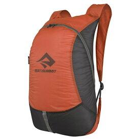 SEA TO SUMMIT(シートゥーサミット) ウルトラシルデイパック/オレンジ ST83516003アウトドアギア デイパック バッグ バックパック リュック オレンジ おうちキャンプ ベランピング