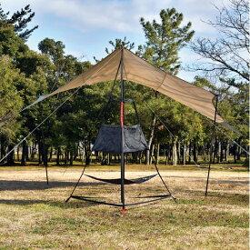 UNIFLAME(ユニフレーム) REVOラックII 681824アウトドアギア ヘキサ・ウイング型タープ テント おうちキャンプ ベランピング