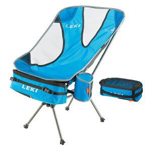 LEKI(レキ) LEKIチェア_サブワンライトウェイト/660ブルー 1300357アウトドアギア コンパクトチェア チェア テーブル レジャーシート イス ブルー おうちキャンプ