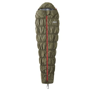 Coleman(コールマン) コルネットストレッチII/L0 (カーキ) 2000031104アウトドアギア マミースリーシーズン マミー型 アウトドア用寝具 寝袋 シュラフ おうちキャンプ ベランピング