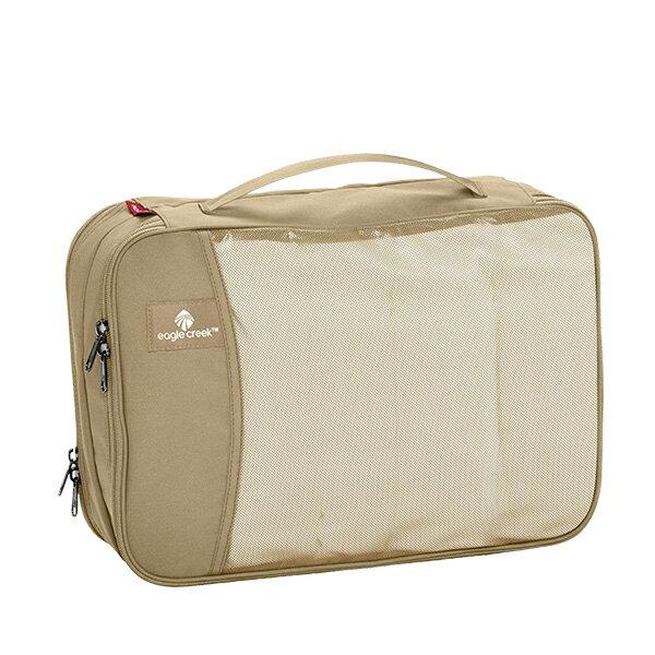 EAGLE CREEK(イーグルクリーク) EC パックイットCDキューブ TAN 11862031ベージュ 衣類収納ボックス 収納用品 生活雑貨 ポーチ、小物バッグ ポーチ、小物バッグ アウトドアギア