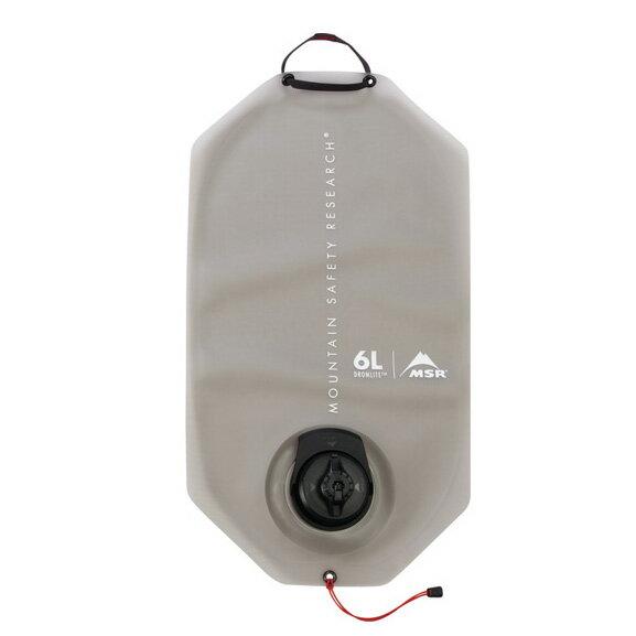 MSR(エムエスアール) ドロムライトバッグ/6L 38585グレー バッグ アウトドア アウトドア ハイドレーション ハイドレーションパック アウトドアギア