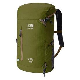 karrimor(カリマー) ユーティリティ 25/アボカド 500774-8610アウトドアギア デイパック バッグ バックパック リュック グリーン おうちキャンプ