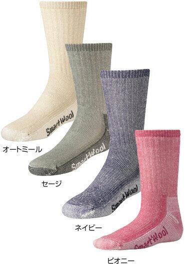 SmartWool(スマートウール) Ks ハイクミディアムクルー/ネイビー/L SW72038子供用 ネイビー 靴下 メンズウェア ウェア ソックス ウール アウトドアウェア