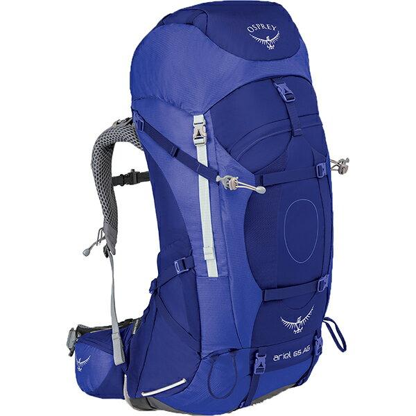 OSPREY(オスプレー) エーリエルAG 65/タイダルブルー/S OS50066女性用 ブルー リュック バックパック バッグ トレッキングパック トレッキング70 アウトドアギア