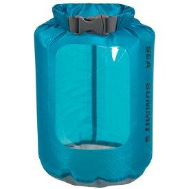 SEA TO SUMMIT(シートゥーサミット) ウルトラシル ビュー ドライサック/ブルー/1L ST83021ブルー ダイビングバッグ シュノーケリング ダイビング 防水バッグ・マップケース ドライバッグ アウトドアギア