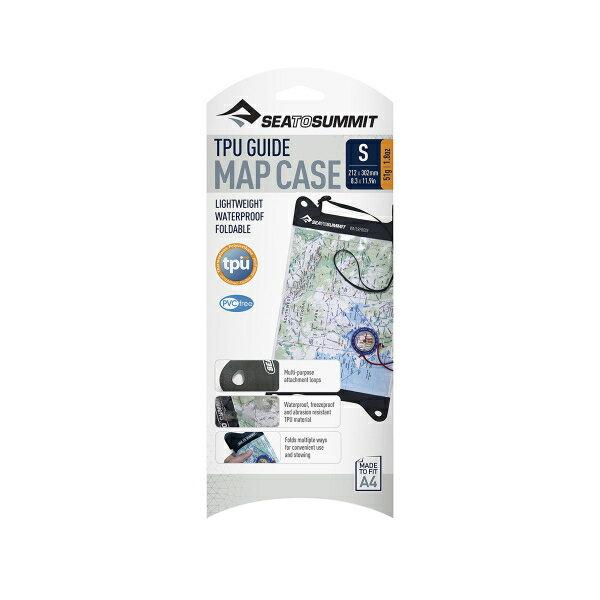 SEA TO SUMMIT(シートゥーサミット) TPUガイドマップケース/S ST83210ブラック スポーツバッグ アクセサリー スポーツウェア 防水バッグ・マップケース 防水バッグ・マップケース アウトドアギア