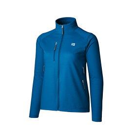 finetrack(ファイントラック) WOMENSドラウトクロージャケット/FN/M FMW0521アウトドアウェア ジャケット女性用 ジャケット レディースウェア アウター ブルー おうちキャンプ ベランピング