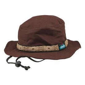 KAVU(カブー) ストラップバケットハット/Chocolate/S 11863452アウトドアウェア キャップ・ハット ウェアアクセサリー メンズウェア 帽子 ブラウン おうちキャンプ