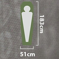 NEMO(ニーモ・イクイップメント)オーラ20RSD(51x183)NM-OR-20Rアウトドアギアウレタンマットアウトドア用寝具一人用(1人用)グレーおうちキャンプベランピング