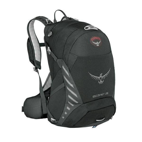 OSPREY(オスプレー) エスカピスト 25/ブラック/S/M OS56312ブラック リュック バックパック バッグ デイパック デイパック アウトドアギア